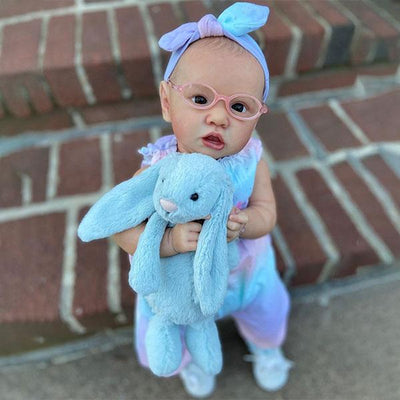 "22"" Cute Agatha Reborn Baby Doll Girl - Reborn Shoppe"