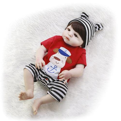 "22"" Full Silicone Reborn Baby Doll Named Niki - Reborn Shoppe"