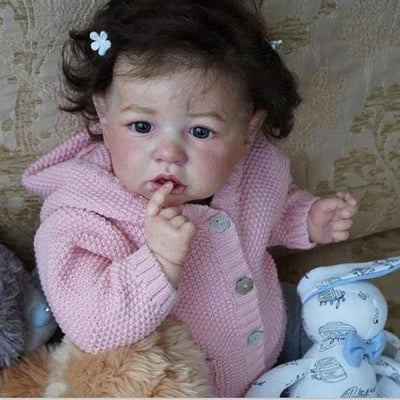 22'' Little Cute Sylvia Reborn Baby Doll - Reborn Shoppe