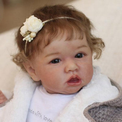 22'' Little Cute Willow Lifelike Reborn Baby Doll - Reborn Shoppe