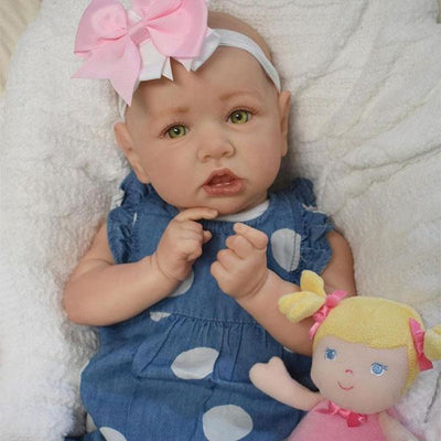 "22"" Little Leona Reborn Baby Doll Girl - Reborn Shoppe"
