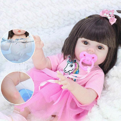 "22"" Yetta Reborn Doll Girl with Drink and Wet System - Reborn Shoppe"