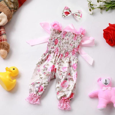 "Pink Doll Cloth for 17"" Reborn Baby Doll Girl - Reborn Shoppe"