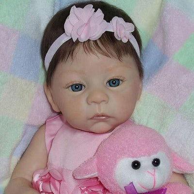 Realistic 18'' Kylie New Silicone Reborn Baby Doll - Reborn Shoppe