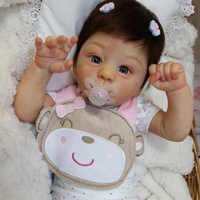 Realistic 18'' Lucas New Silicone Reborn Baby Doll - Reborn Shoppe