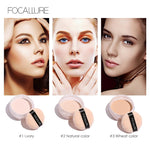 FOCALLURE New Brand Makeup Powder 3 Colors Loose Powder Face Makeup Waterproof Loose Powder Skin Finish Powder|makeup pieces|makeup menpowder rubber