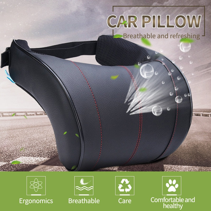Auto Car Neck Headrest Pillow