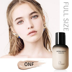Pudaier Face Foundation Makeup Liquid Foundation Cream Matte Foundation Base Face Concealer Cosmetic Dropshipping Makeup|Face Foundation