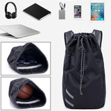Sports Basketball Laptop School Backpack