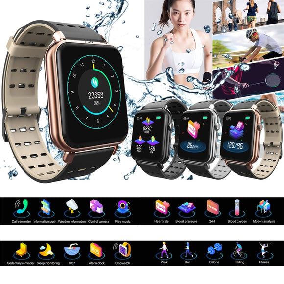 Waterproof Bluetooth Heart Rate Monitor Mate Smartwatch
