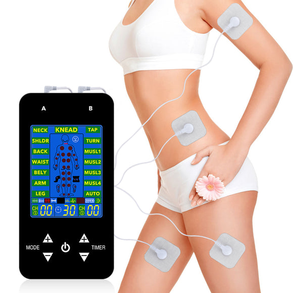 Tens Acupuncture Body Massager Digital Therapy Machine