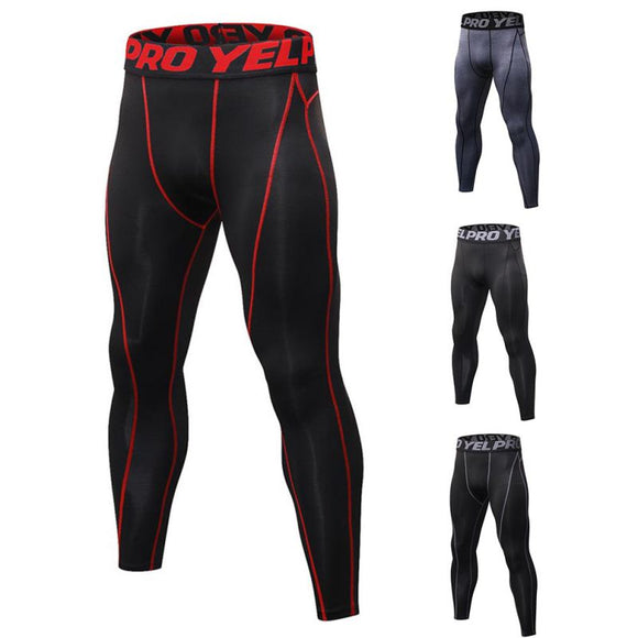 Men's tight Compression Sports Leggings
