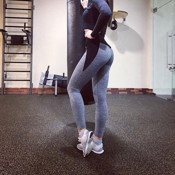 Workout Leggings Running Athletic High Waist