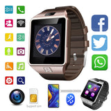 Unsex DZ09 Smartwatch Bluetooth Support SIM TF Card