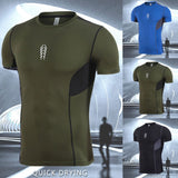 Men's  Sports Fast-drying Short Sleeve O-Neck T Shirt