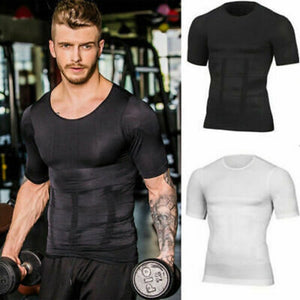 Men's Running T-Shirt Quick Dry Breathable Fitness Sportswear