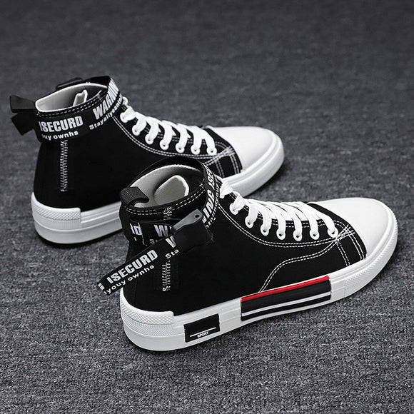 Men Canvas Shoes Casual Breathable Sneakers
