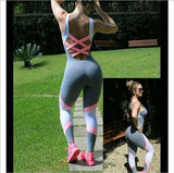 Fasion Womens Jumpsuit Gym Sportswear