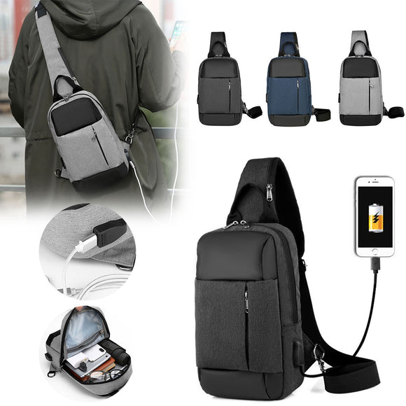 Men Chest Bags Shoulder Multi-Function Mobile Phone Outdoor Bag