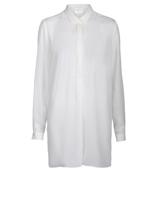 Opulent tunic (156 Milk White) - D.O Design Only