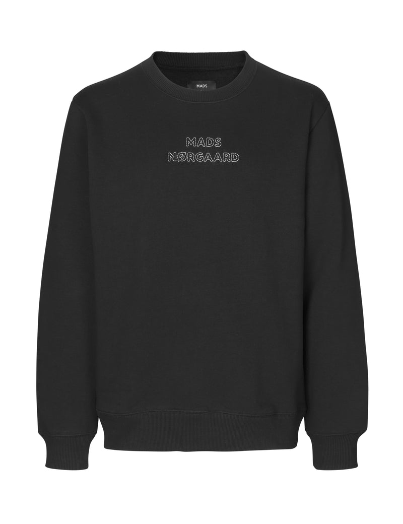 New Standard Crewneck Emb (1 BLACK) - D.O Design Only