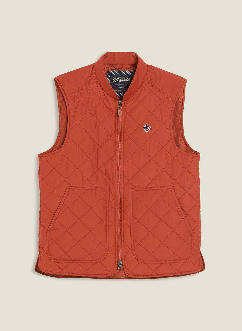 Kensington Quilted Vest (41 RED)