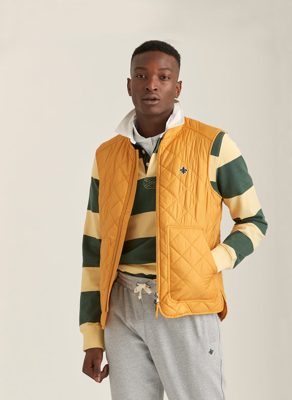 Kensington Quilted Vest (18 Yellow)