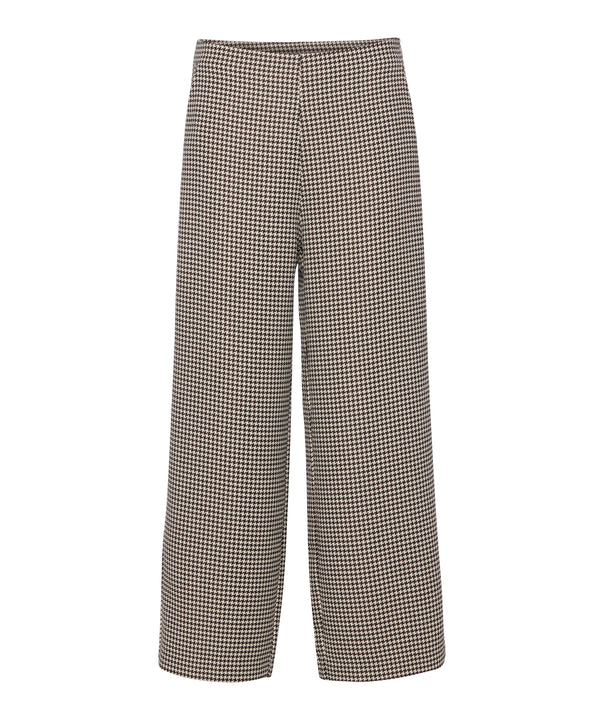 Marit pants (Beige check) - D.O Design Only