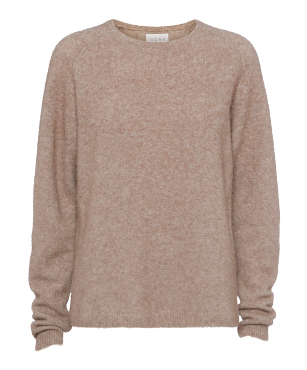 Salt knit (Light brown melange) - D.O Design Only
