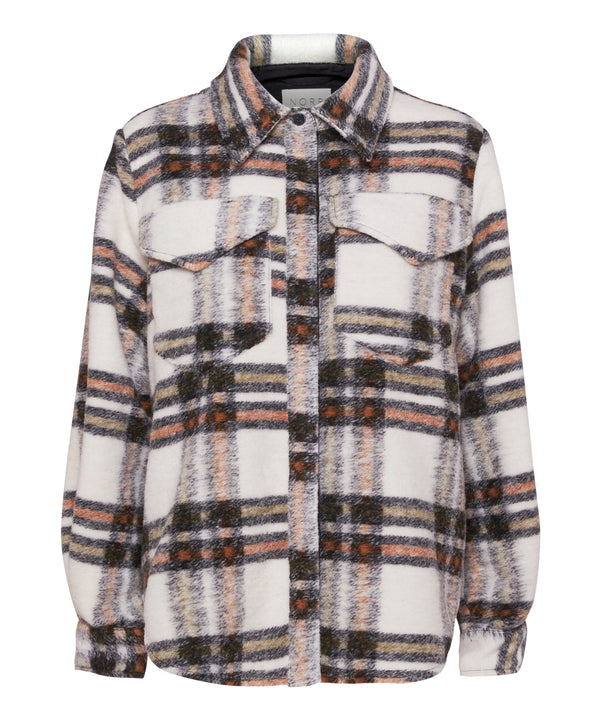 Krista shirt (Beige check) - D.O Design Only