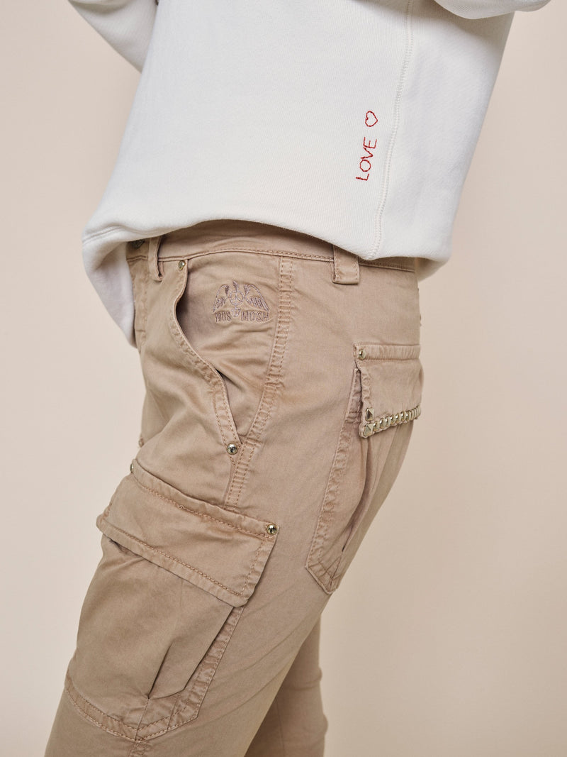 Cheryl Cargo Reunion Pant (135 Safari) - D.O Design Only