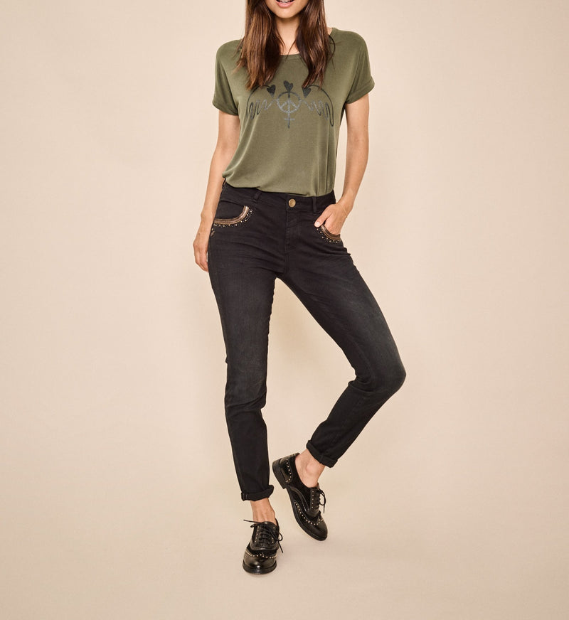 Naomi Mercury Jeans (801 Black)
