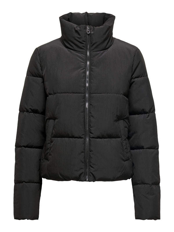 ONLDOLLY SHORT PUFFER JACKET OTW (BLACK) - D.O Design Only