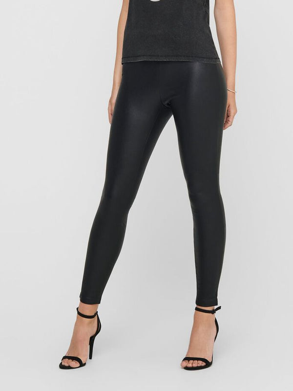 ONLRACHEL FAUX LEATHER LEGGING CC OTW (BLACK)