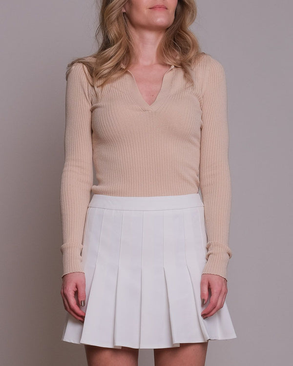 Mily soft Knit Blouse (213 Sand)