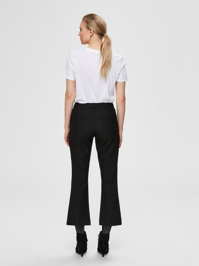 SLFADA MW CROPPED FLARED PANT NOOS (BLACK) - D.O Design Only
