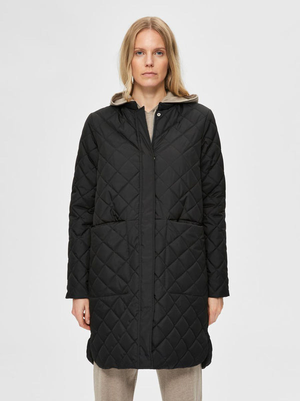 SLFFILLIPA QUILTED COAT B NOOS (BLACK)