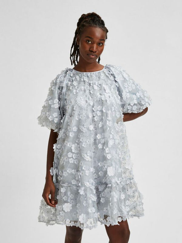 SLFALBERTA 2/4 DRESS G (Arctic Ice)
