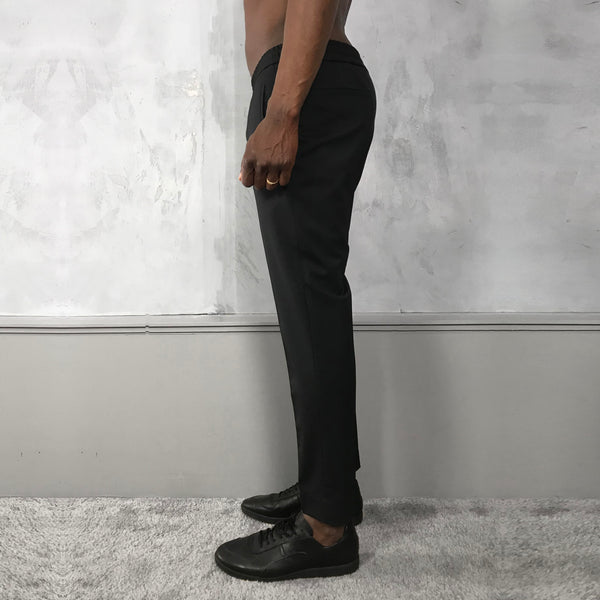 Tailored Track Trousers (BLACK) - D.O Design Only