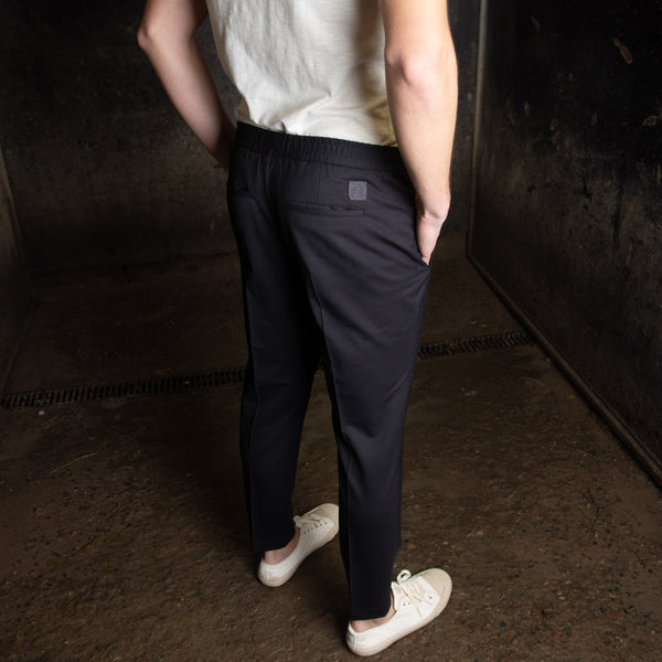 Tailored Track Trousers (NAVY)