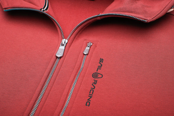 BOWMAN ZIP HOOD (423 LAVA RED)