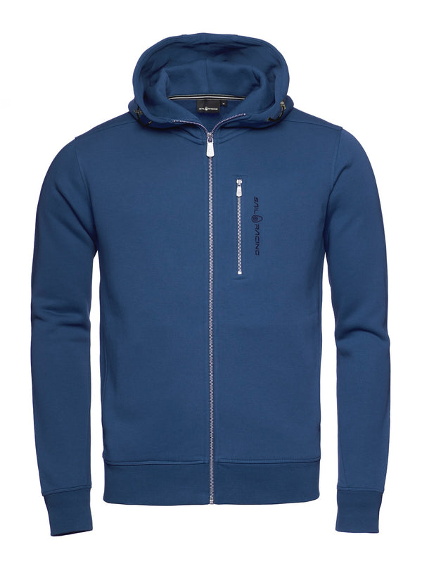 BOWMAN ZIP HOOD (616 BLUE INK)