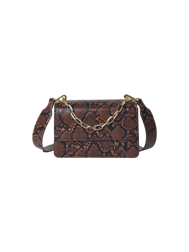 Snake Maya Bag (149 Brownish) - D.O Design Only