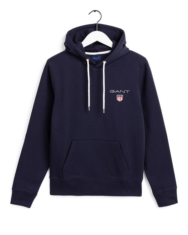 MEDIUM SHIELD HOODIE (433 EVENING BLUE)