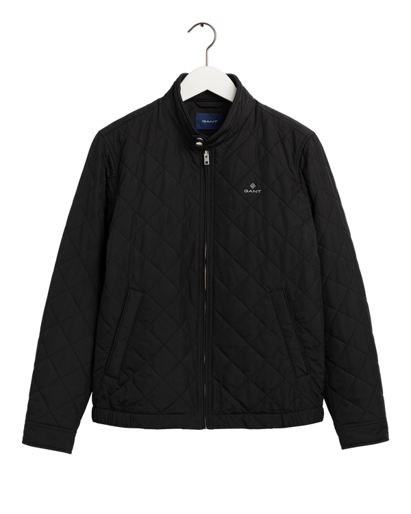 QUILTED WINDCHEATER (5 BLACK) - D.O Design Only