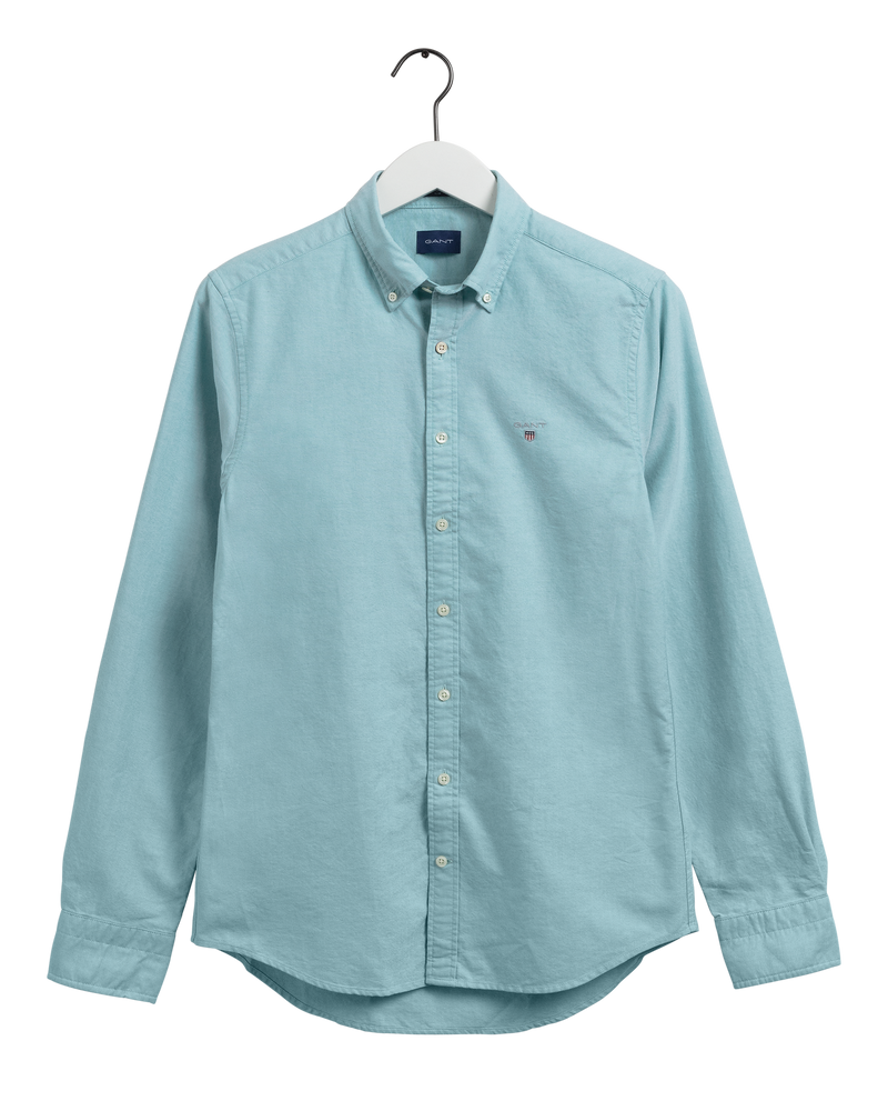 THE OXFORD SHIRT SLIM BD (368 GREEN LAGOON)