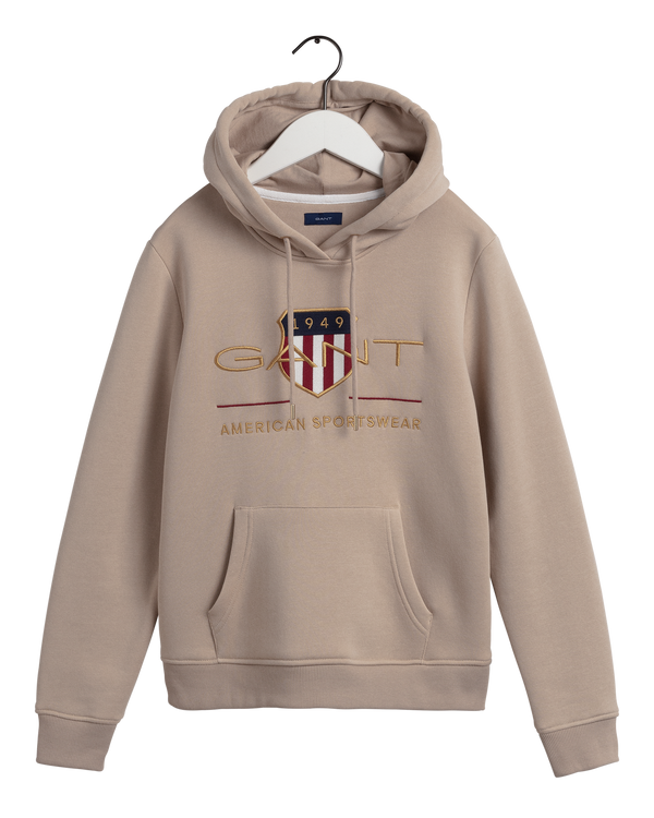 D1. ARCHIVE SHIELD SWEAT HOODIE (277 Dry Sand)