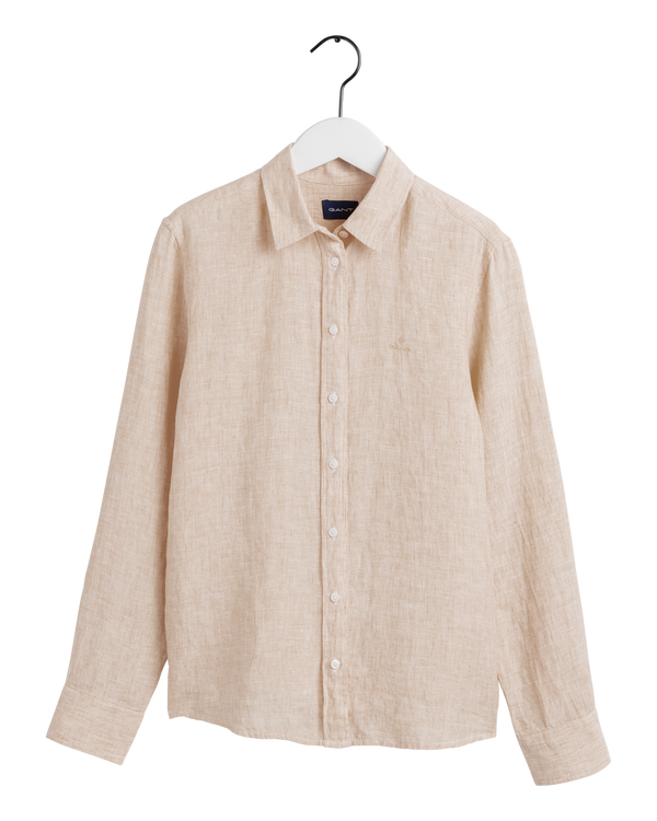 THE LINEN CHAMBRAY SHIRT (277 Dry Sand)