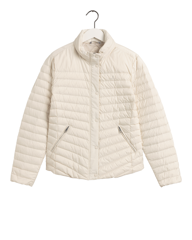 LIGHT DOWN JACKET (34 PUTTY)