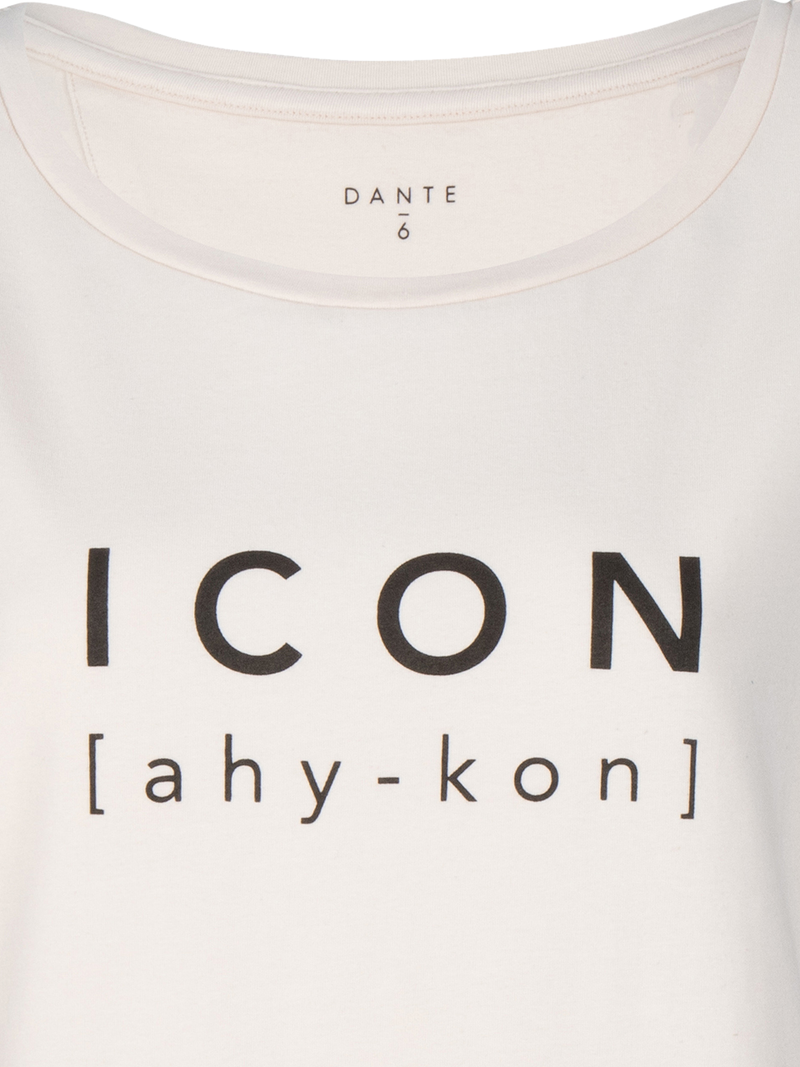 Icon tee (148 Cream Pearl) - D.O Design Only